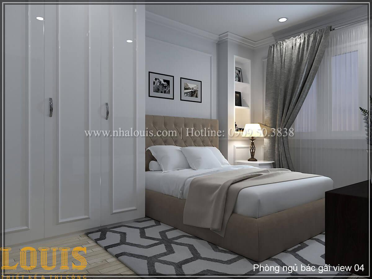 Phòng ngủ Thiết kế tiệm vàng 5 tầng tân cổ điển đẹp không tì vết tại Nhà Bè - 15