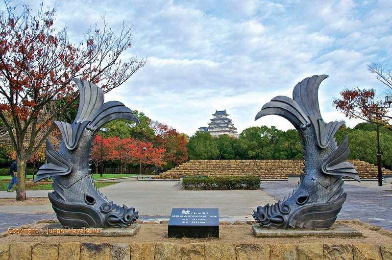 Trầm trồ trước vẻ đẹp thanh tao của lâu đài Himeji ở Nhật Bản - 02
