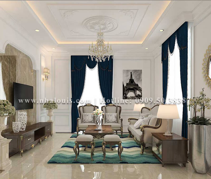 Hé lộ 9 mẫu thiết kế nội thất phòng khách đẹp năm 2018