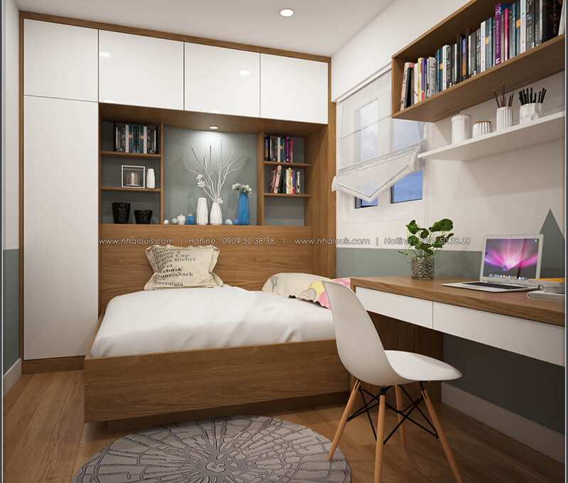 Bạn đã biết kinh nghiệm thuê thiết kế căn hộ 2 phòng ngủ chưa?