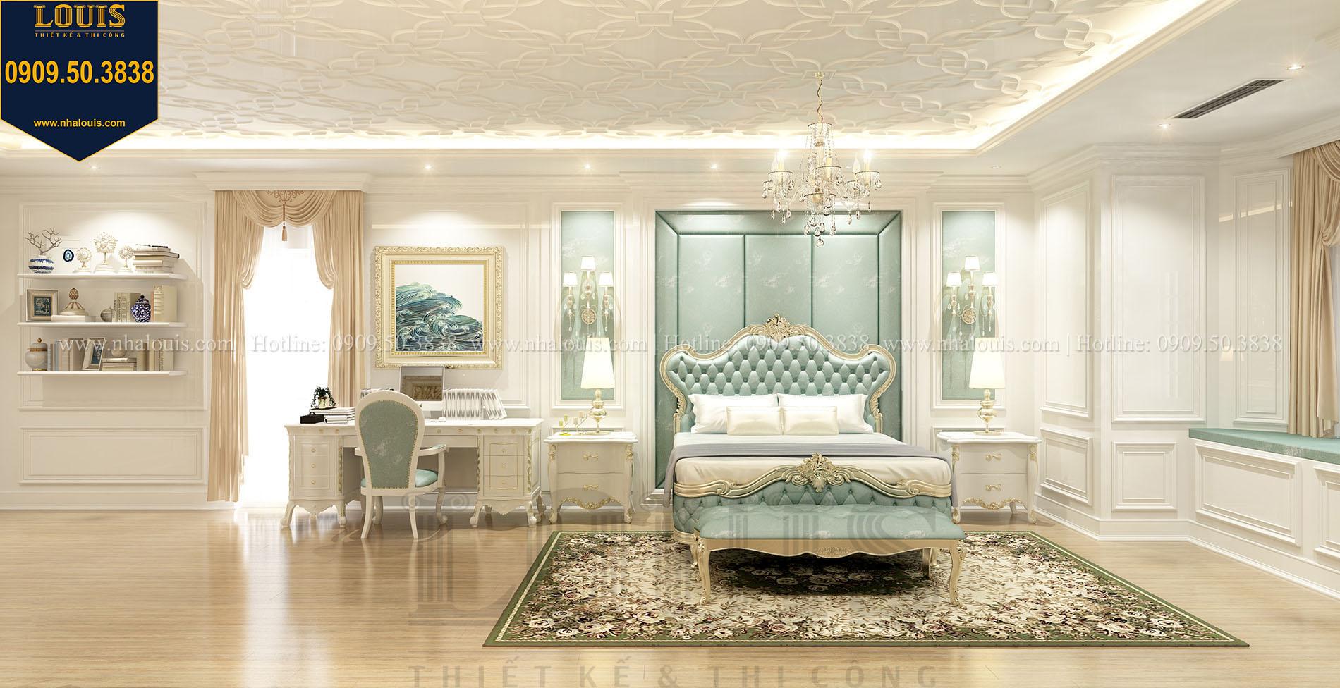 Phòng ngủ con trai Biệt thự Châu Âu cổ điển chuẩn sang chảnh tại Nhà Bè - 017