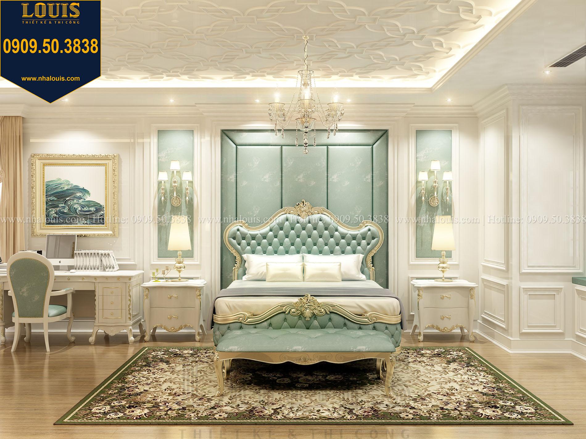 Phòng ngủ con trai Biệt thự Châu Âu cổ điển chuẩn sang chảnh tại Nhà Bè - 018
