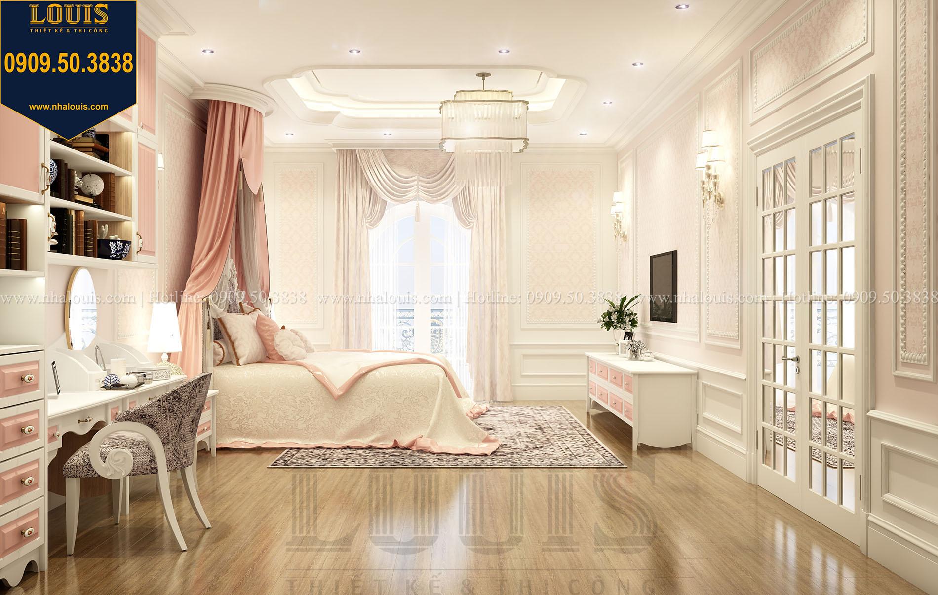 Phòng ngủ con gái Biệt thự Châu Âu cổ điển chuẩn sang chảnh tại Nhà Bè - 021