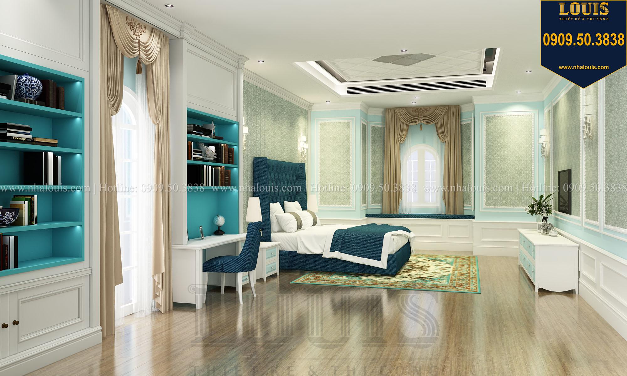 Phòng ngủ con trai Biệt thự Châu Âu cổ điển chuẩn sang chảnh tại Nhà Bè - 025