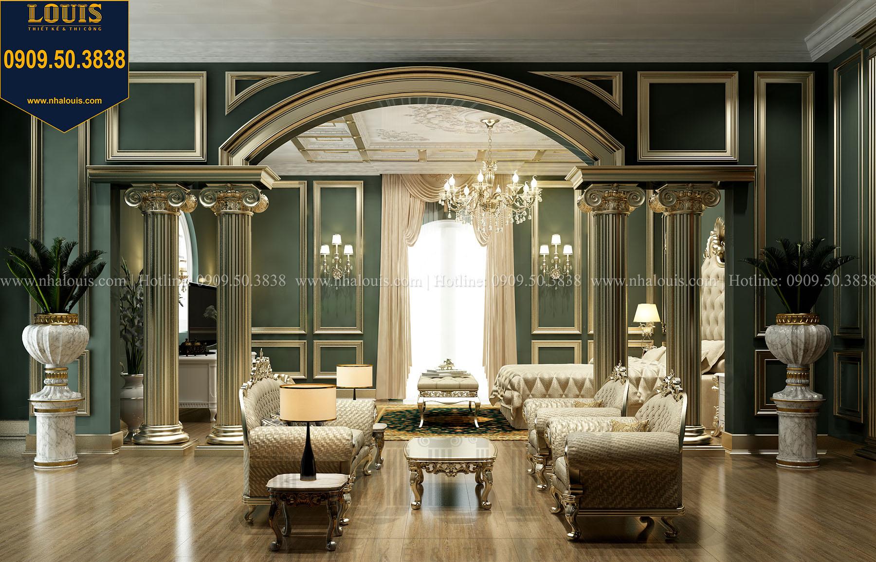 Phòng ngủ master Biệt thự Châu Âu cổ điển chuẩn sang chảnh tại Nhà Bè - 027