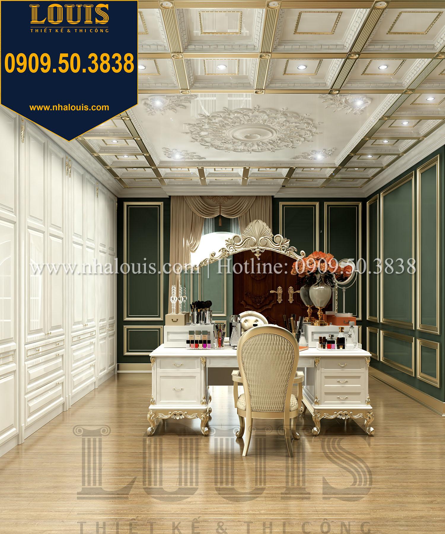 Phòng ngủ master Biệt thự Châu Âu cổ điển chuẩn sang chảnh tại Nhà Bè - 028