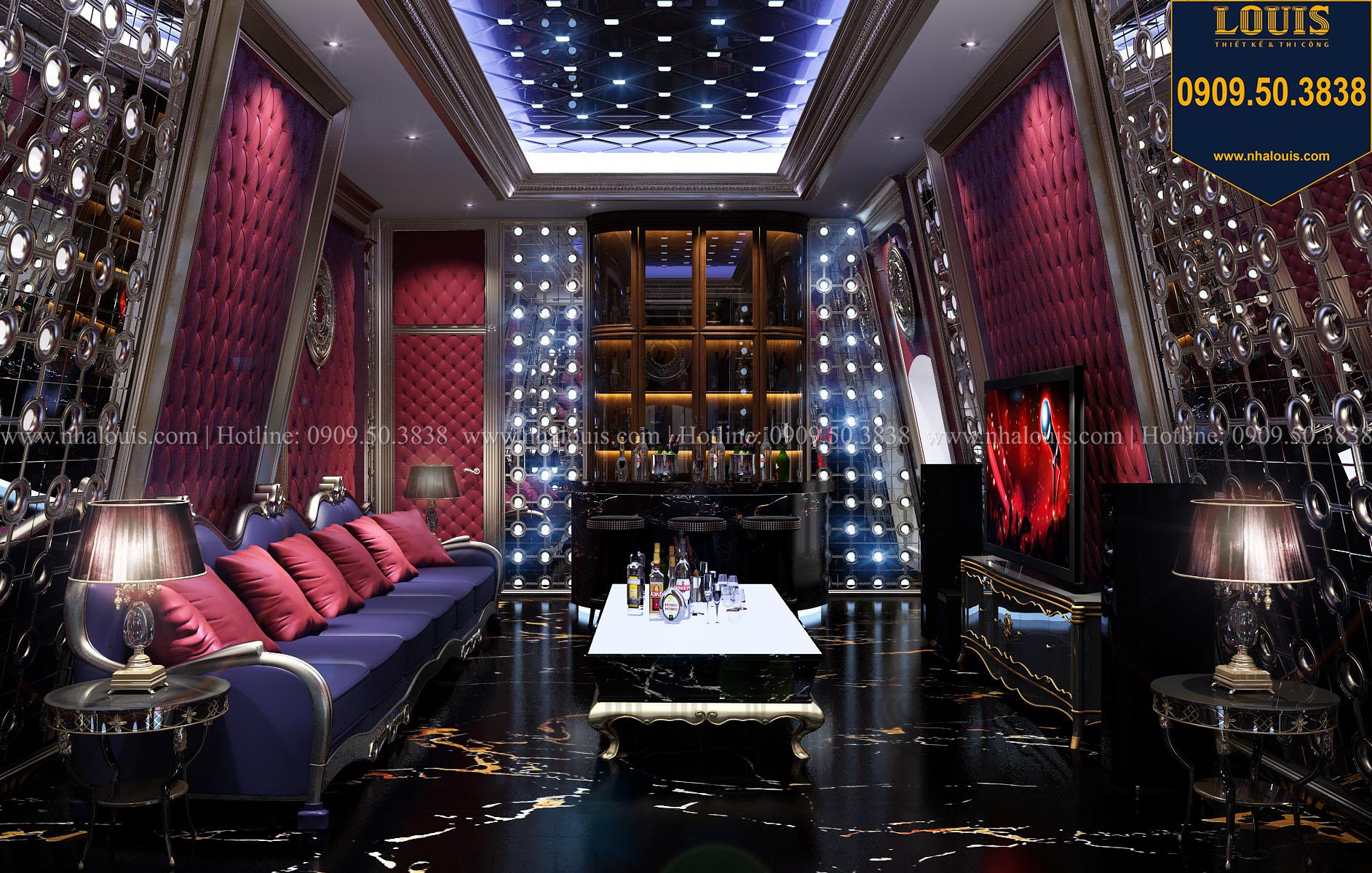 Phòng Karaoke Biệt thự Châu Âu cổ điển chuẩn sang chảnh tại Nhà Bè - 030