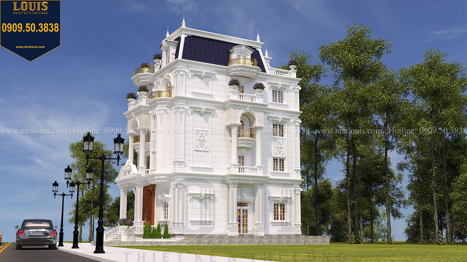 Mặt tiền Biệt thự Châu Âu cổ điển chuẩn sang chảnh tại Nhà Bè - 08