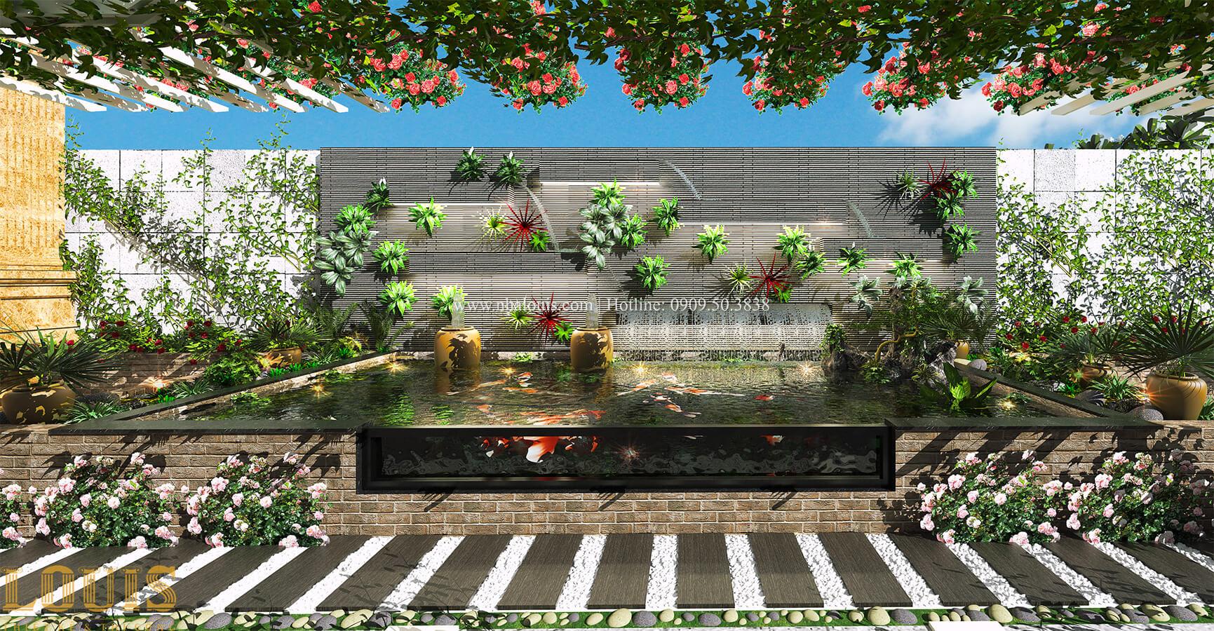 Sân vườn Thích thú bước vào biệt thự sân vườn đẹp xanh mát tại Tân Bình - 14