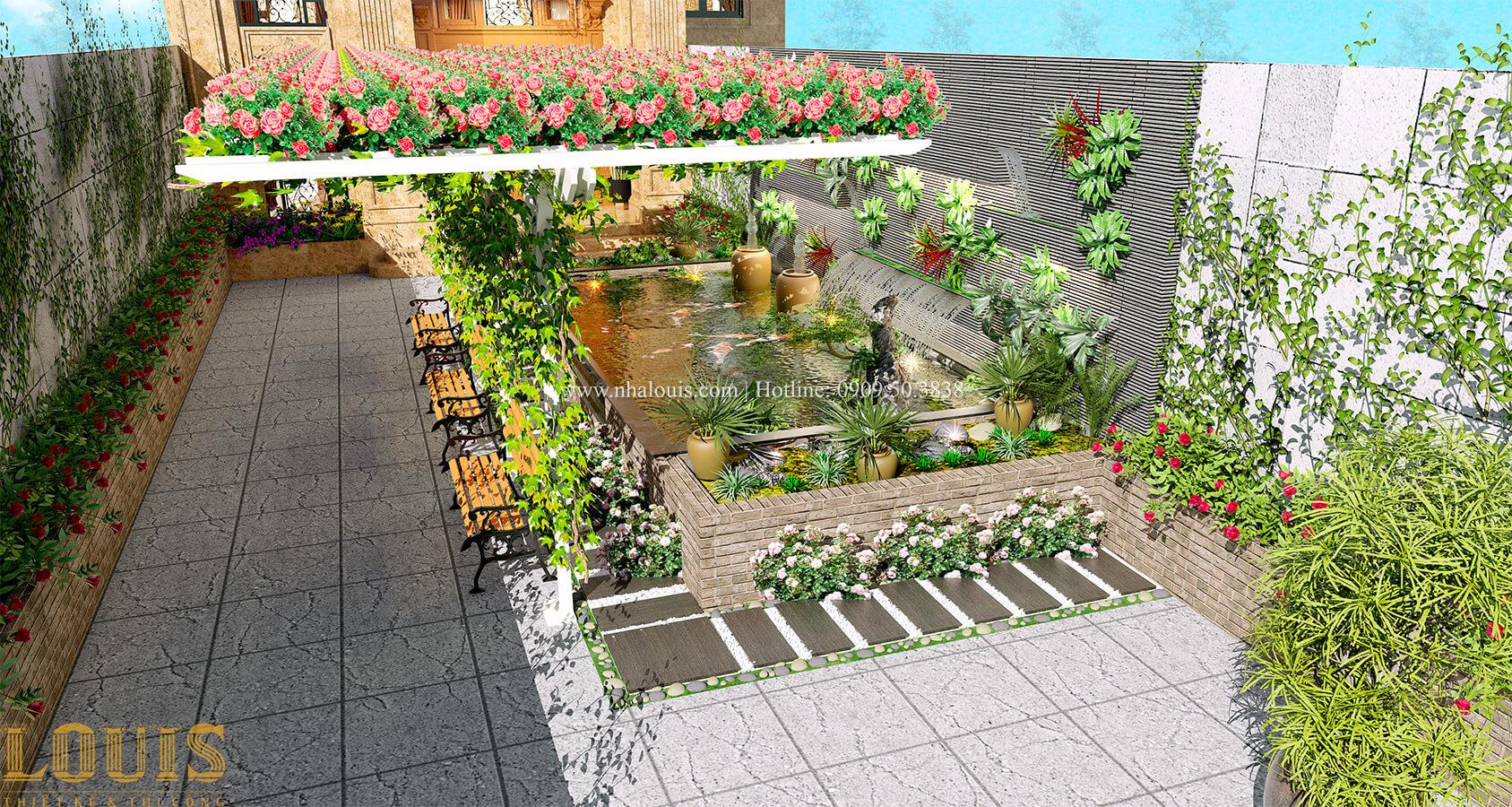 Sân vườn Thích thú bước vào biệt thự sân vườn đẹp xanh mát tại Tân Bình - 16
