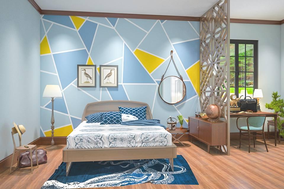 Chọn màu sơn cho thiết kế nội thất chung cư đẹp và giàu năng lượng