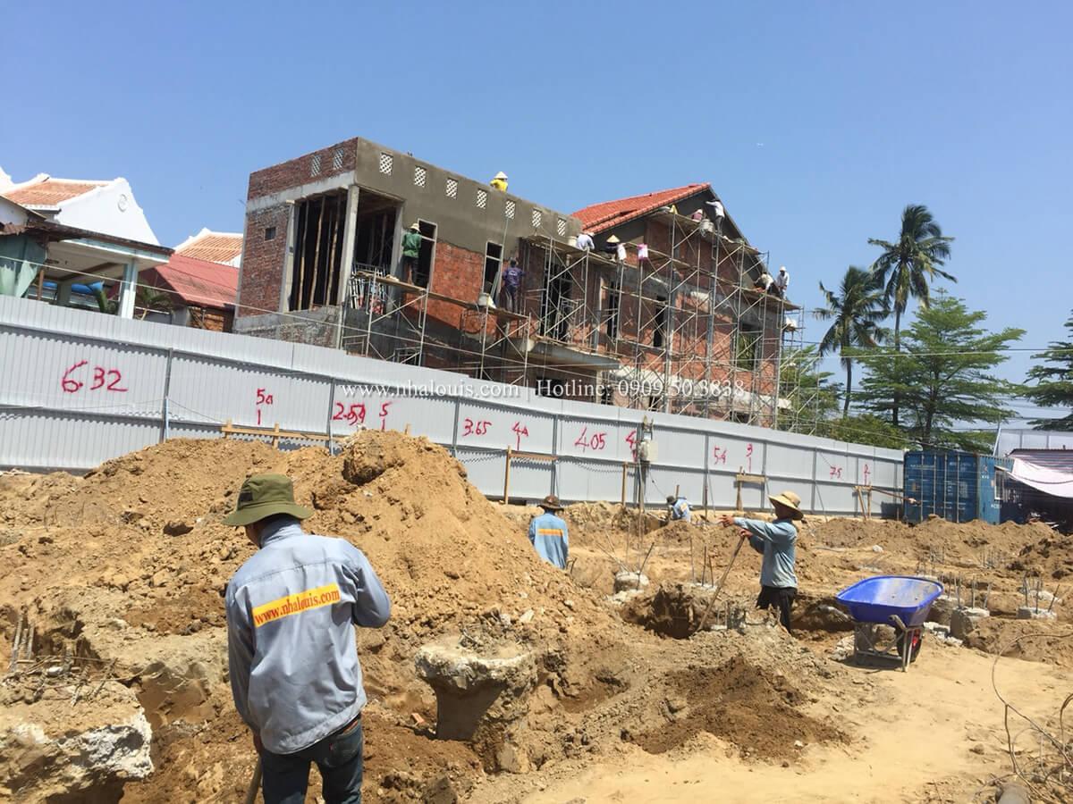 Khởi công xây dựng mẫu biệt thự 2 tầng đẹp tại Hội An - 07