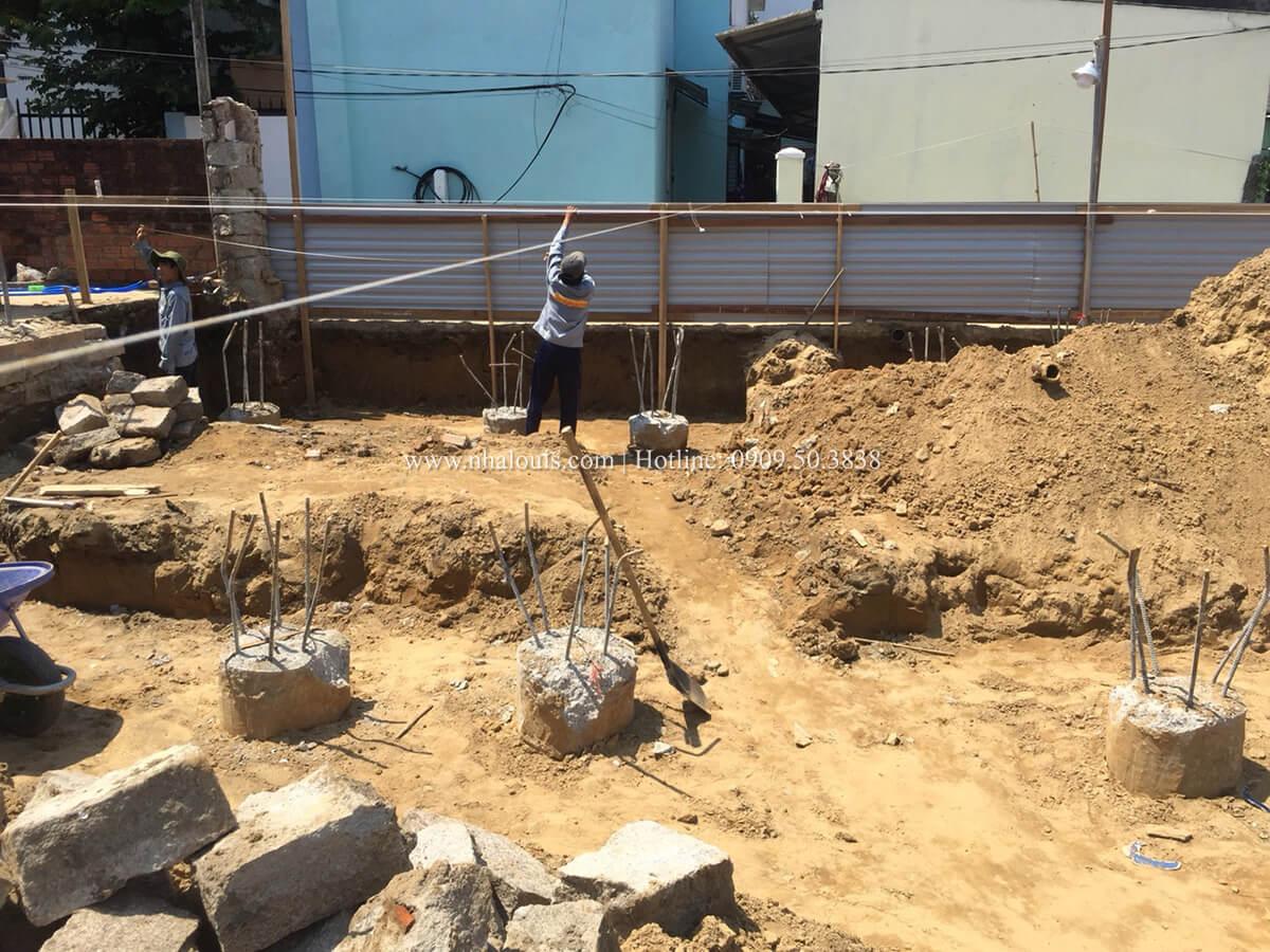 Khởi công xây dựng mẫu biệt 2 tầng đẹp tại Hội An