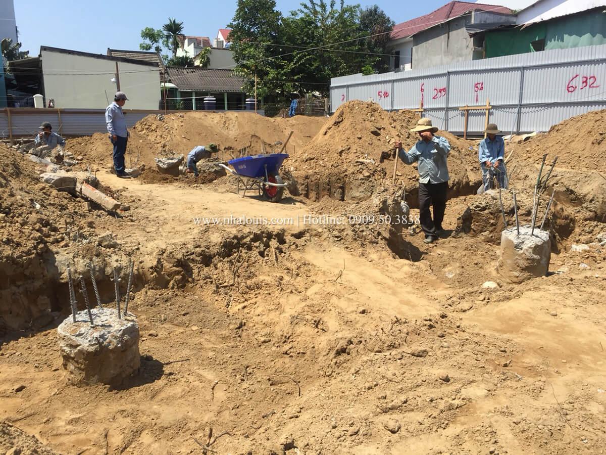 Khởi công xây dựng mẫu biệt thự 2 tầng đẹp tại Hội An - 09