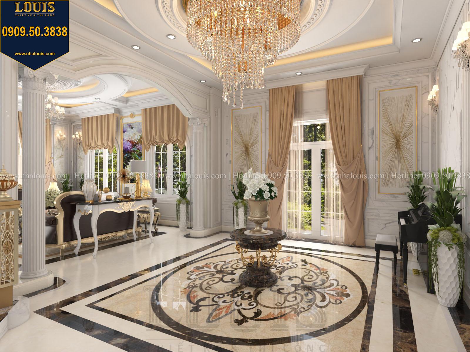 Sảnh biệt thự 2 tầng đẹp - 011