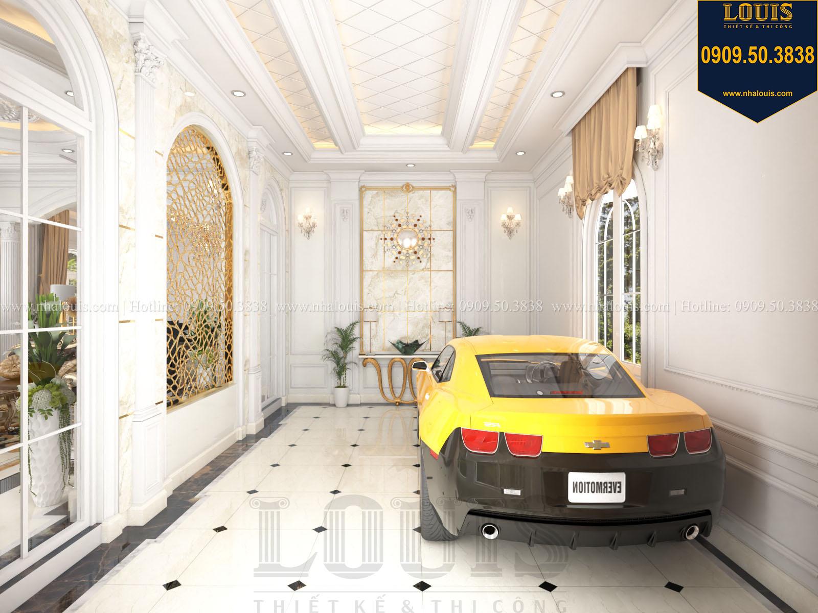 Gara biệt thự 2 tầng đẹp - 012