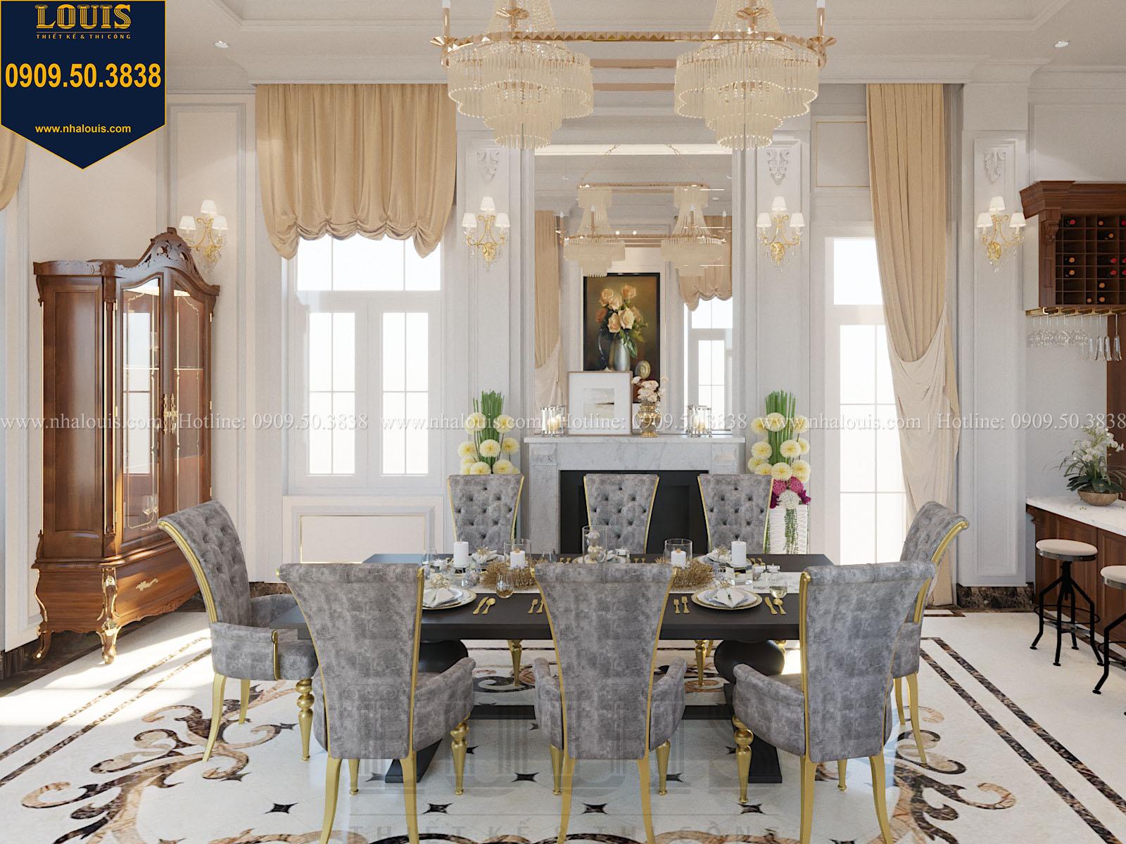 Phòng ăn biệt thự 2 tầng đẹp - 020