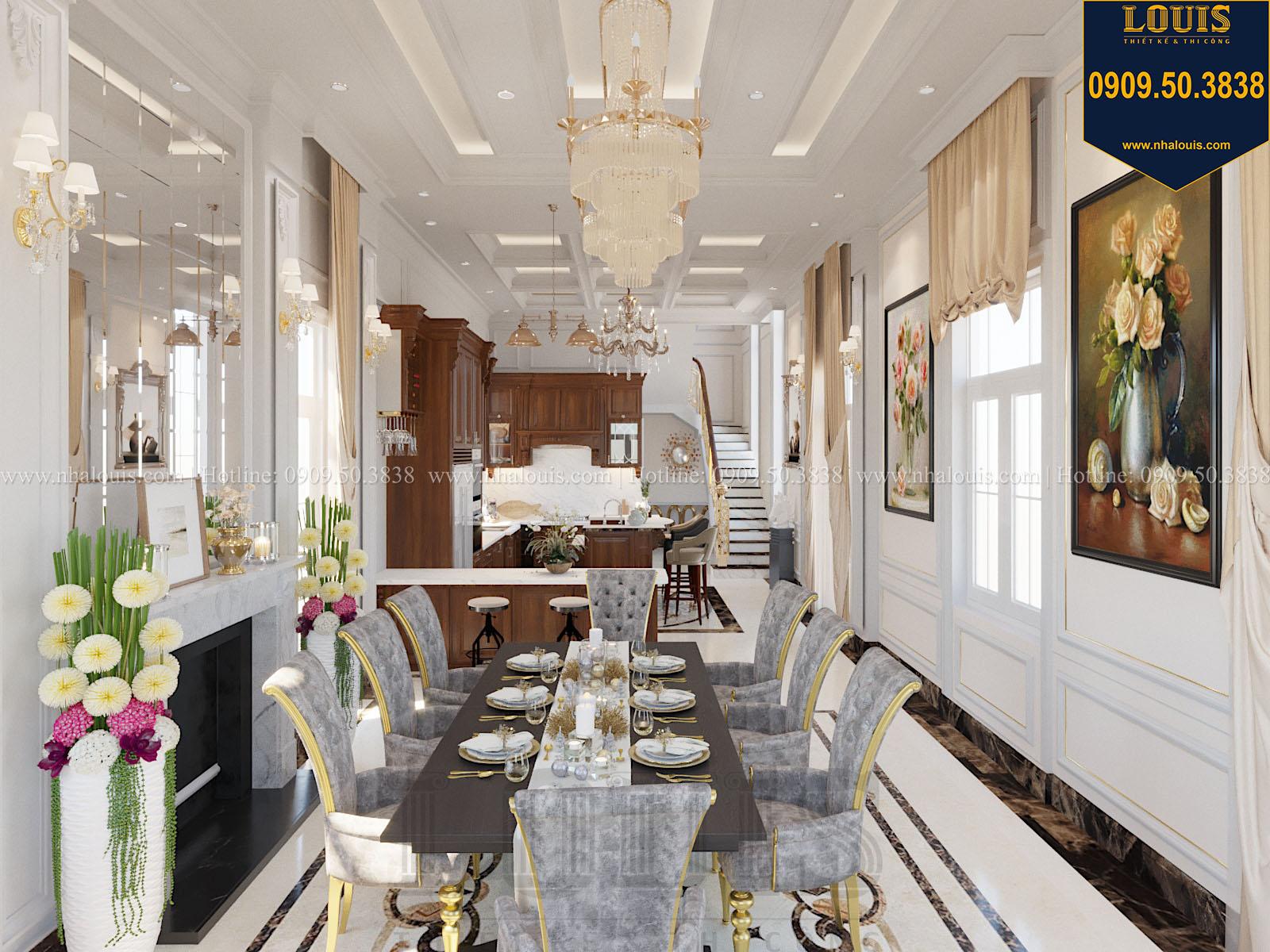 Phòng ăn biệt thự 2 tầng đẹp - 021