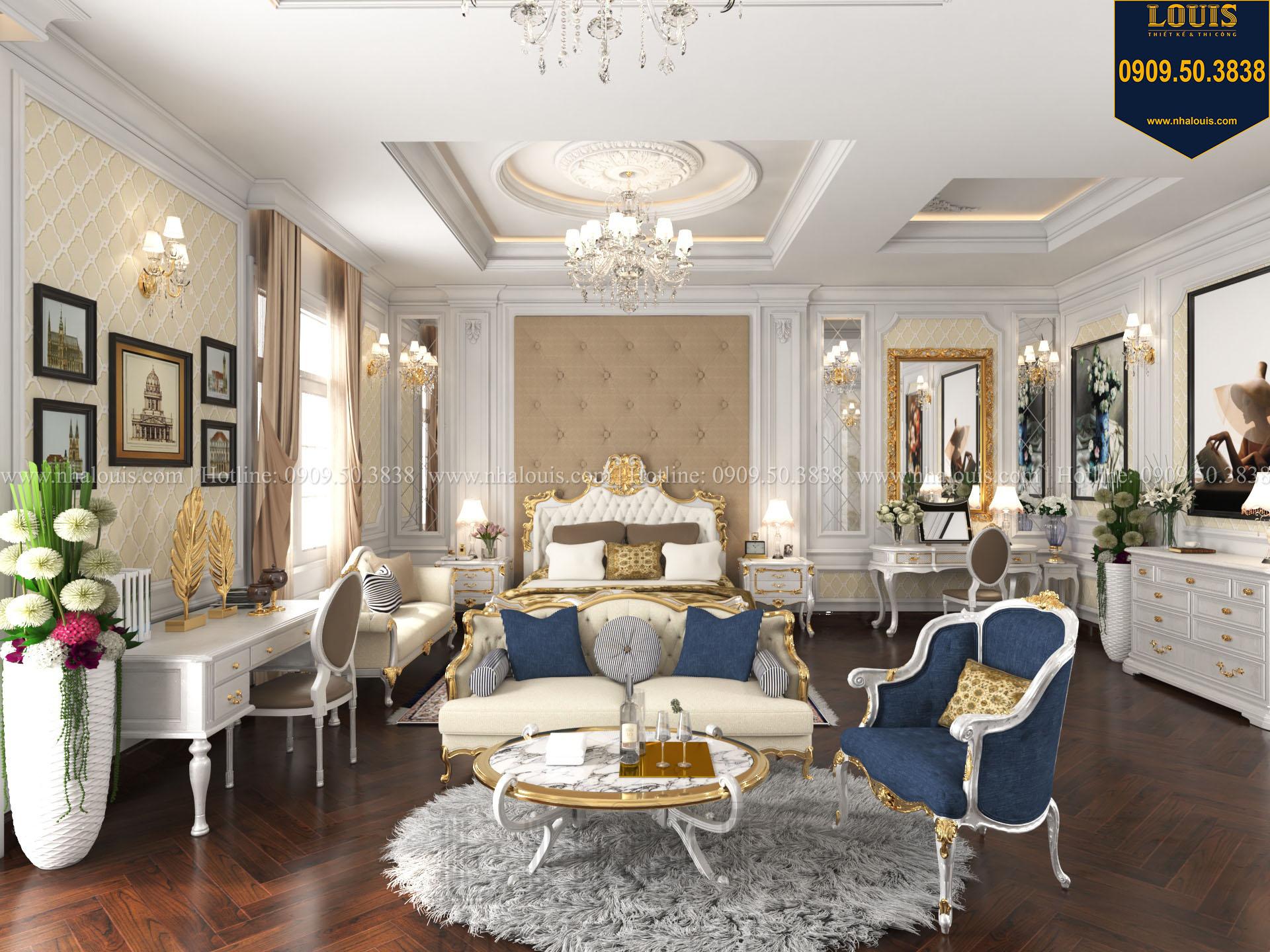 Phòng ngủ master biệt thự 2 tầng đẹp và đầy đủ tiện nghi - 022