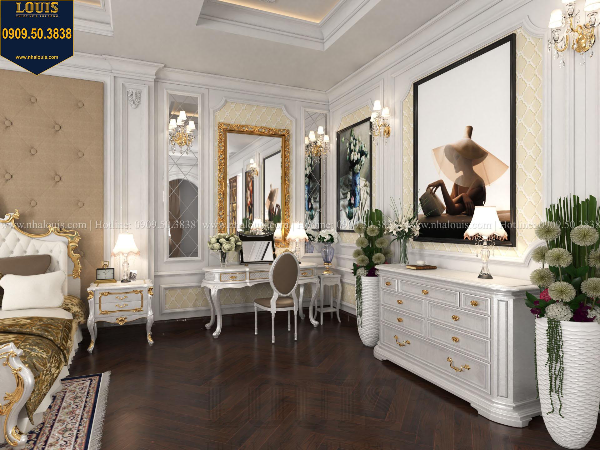 Phòng ngủ master biệt thự 2 tầng đẹp - 024