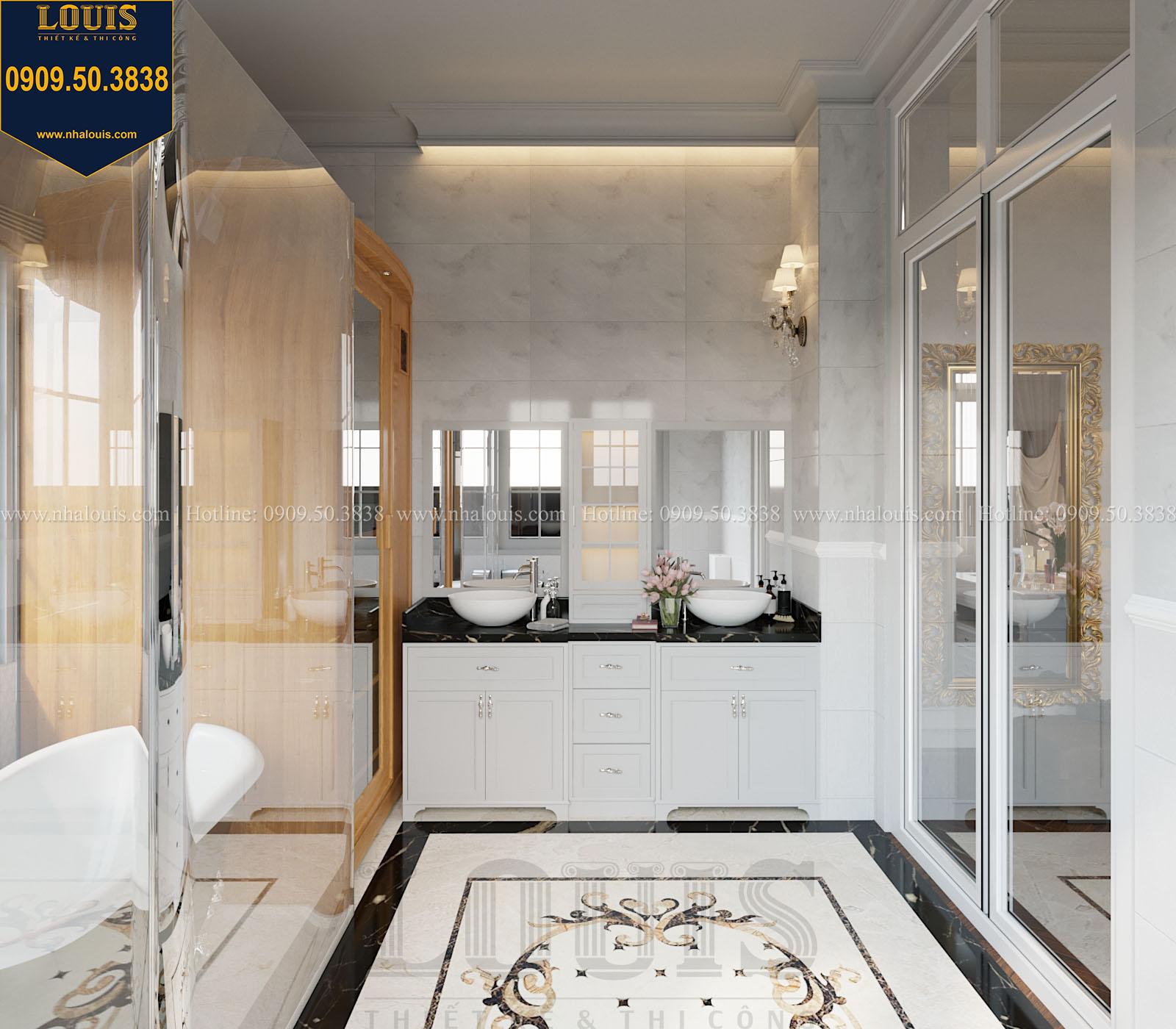 Phòng tắm và WC biệt thự 2 tầng đẹp - 029