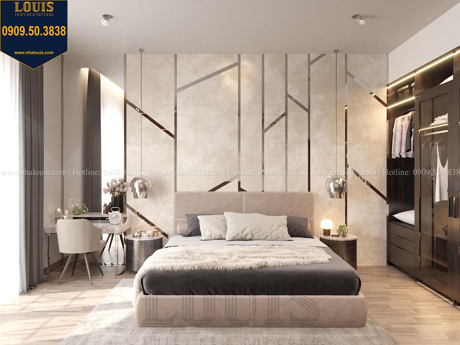 Phòng ngủ biệt thự 2 tầng đẹp - 032