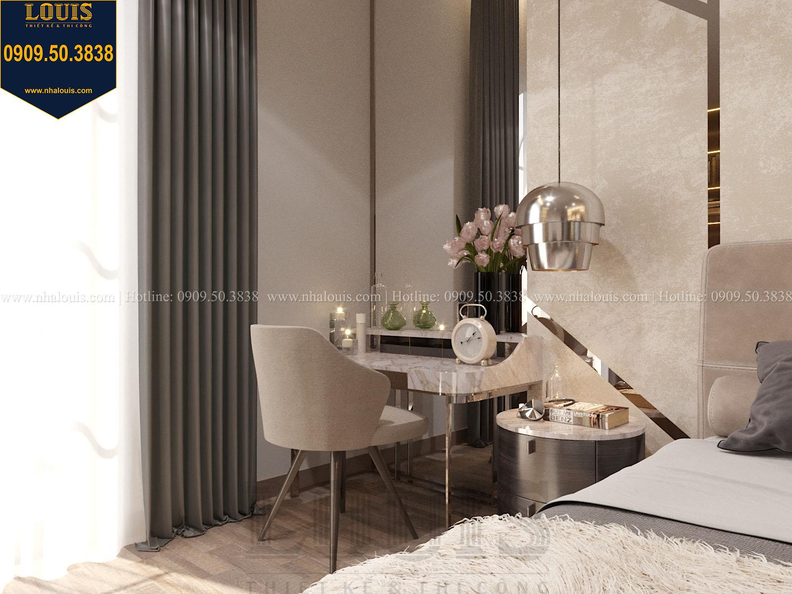 Phòng ngủ biệt thự 2 tầng đẹp - 033
