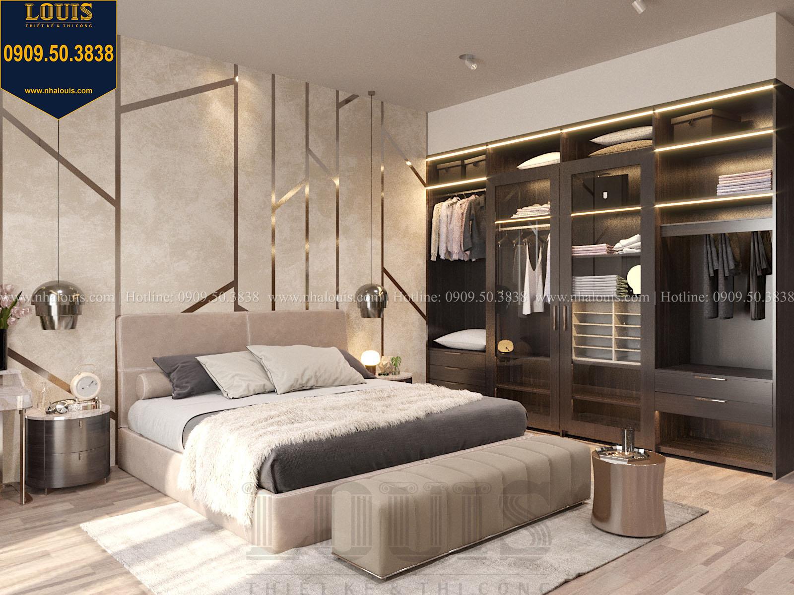 Phòng ngủ biệt thự 2 tầng đẹp - 034