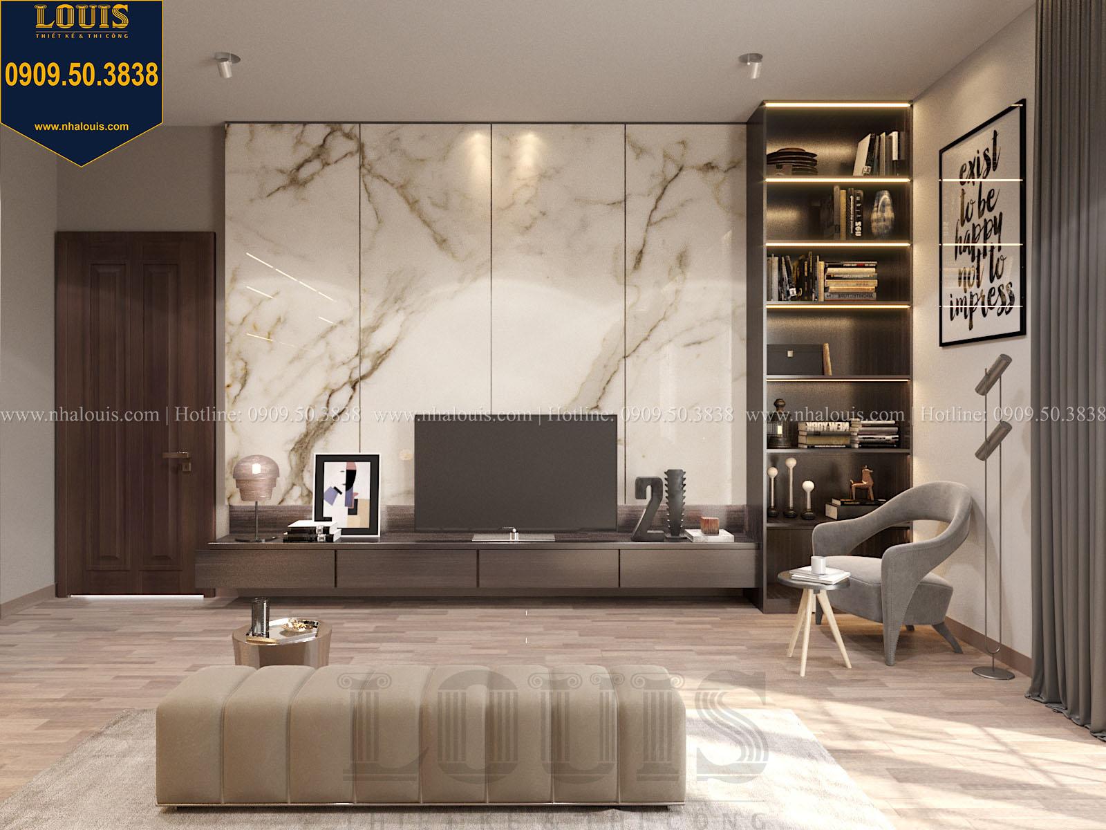 Phòng ngủ biệt thự 2 tầng đẹp - 036