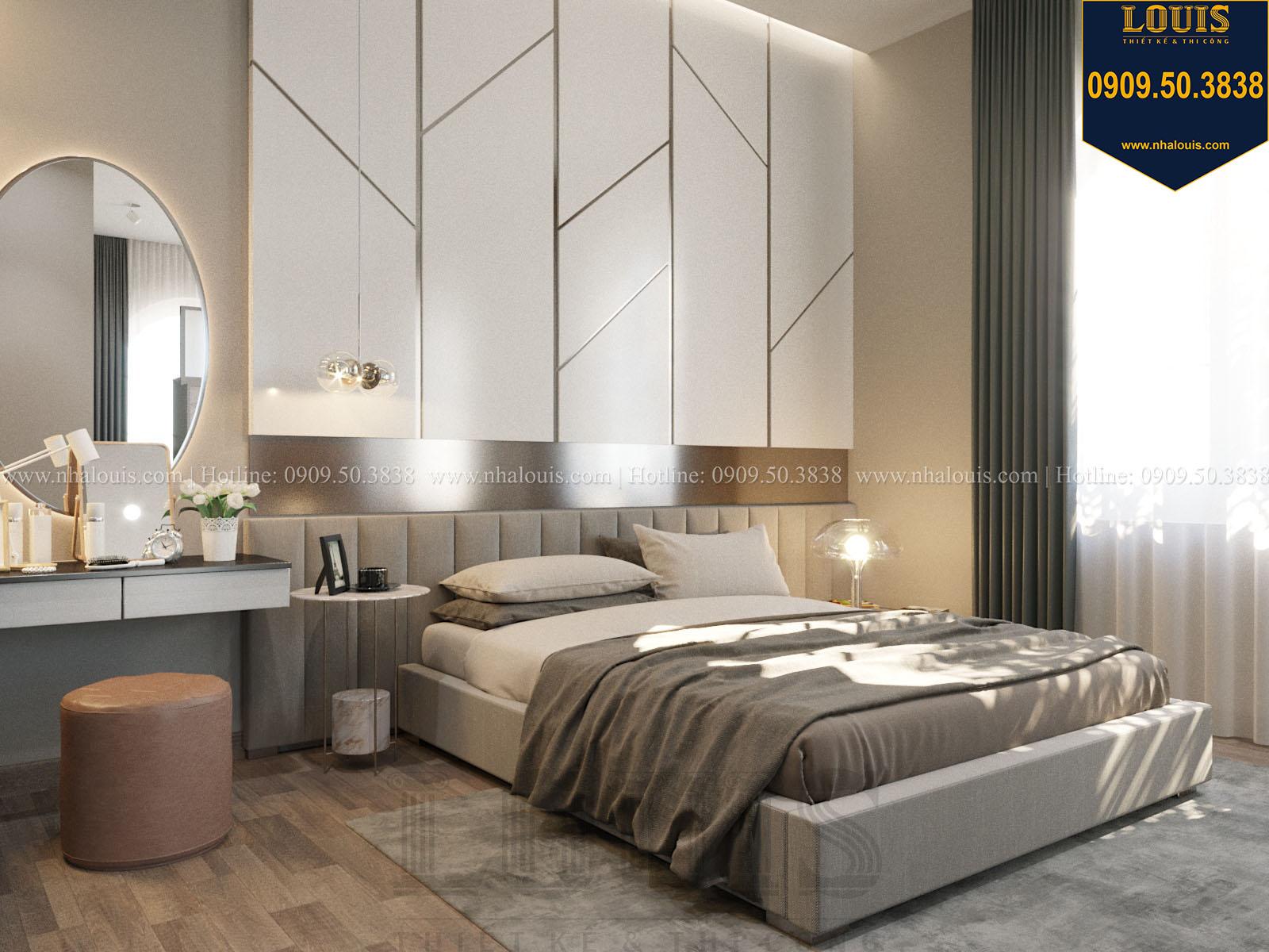 Phòng ngủ biệt thự 2 tầng đẹp - 037