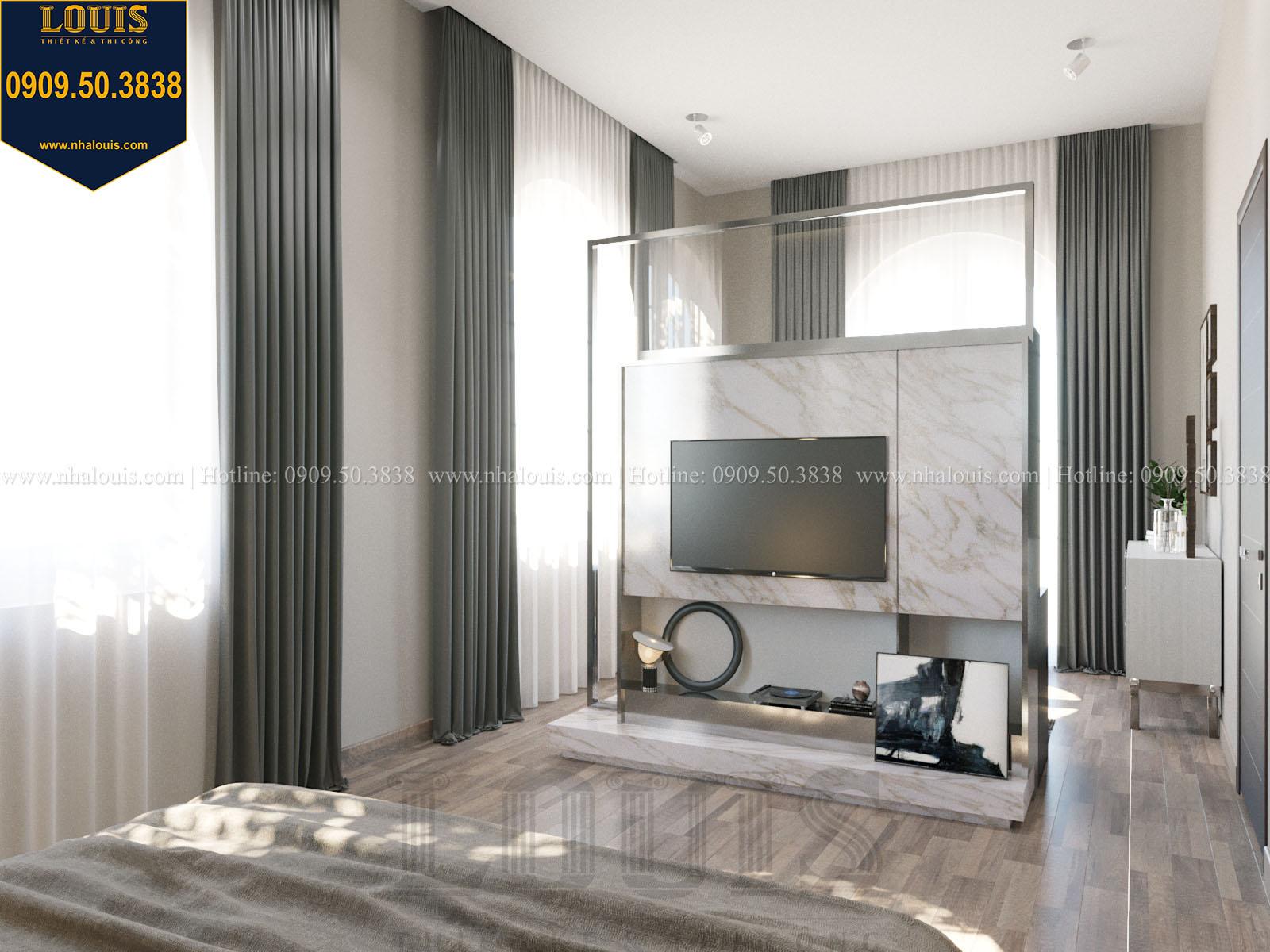 Phòng ngủ biệt thự 2 tầng đẹp - 039
