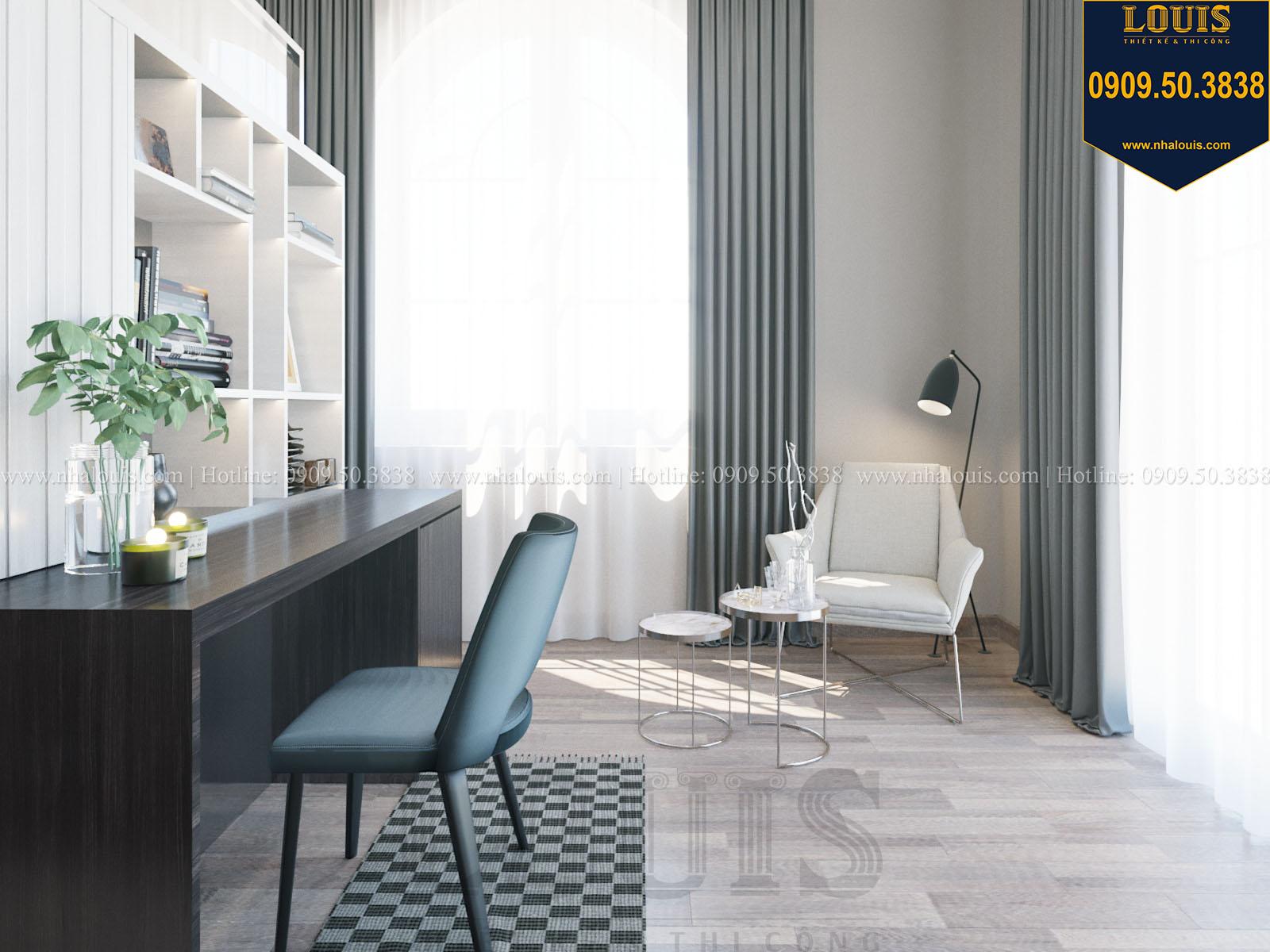 Phòng ngủ biệt thự 2 tầng đẹp - 040