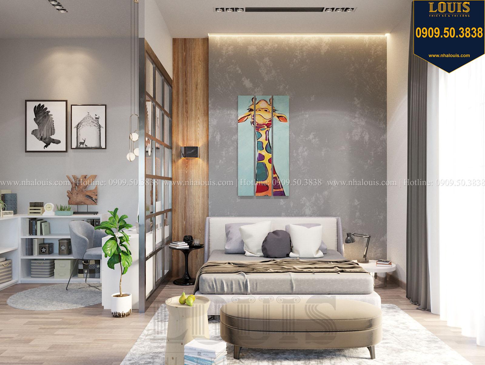Phòng ngủ biệt thự 2 tầng đẹp - 042
