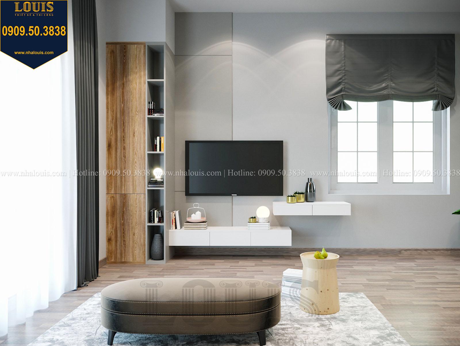 Phòng ngủ biệt thự 2 tầng đẹp - 043