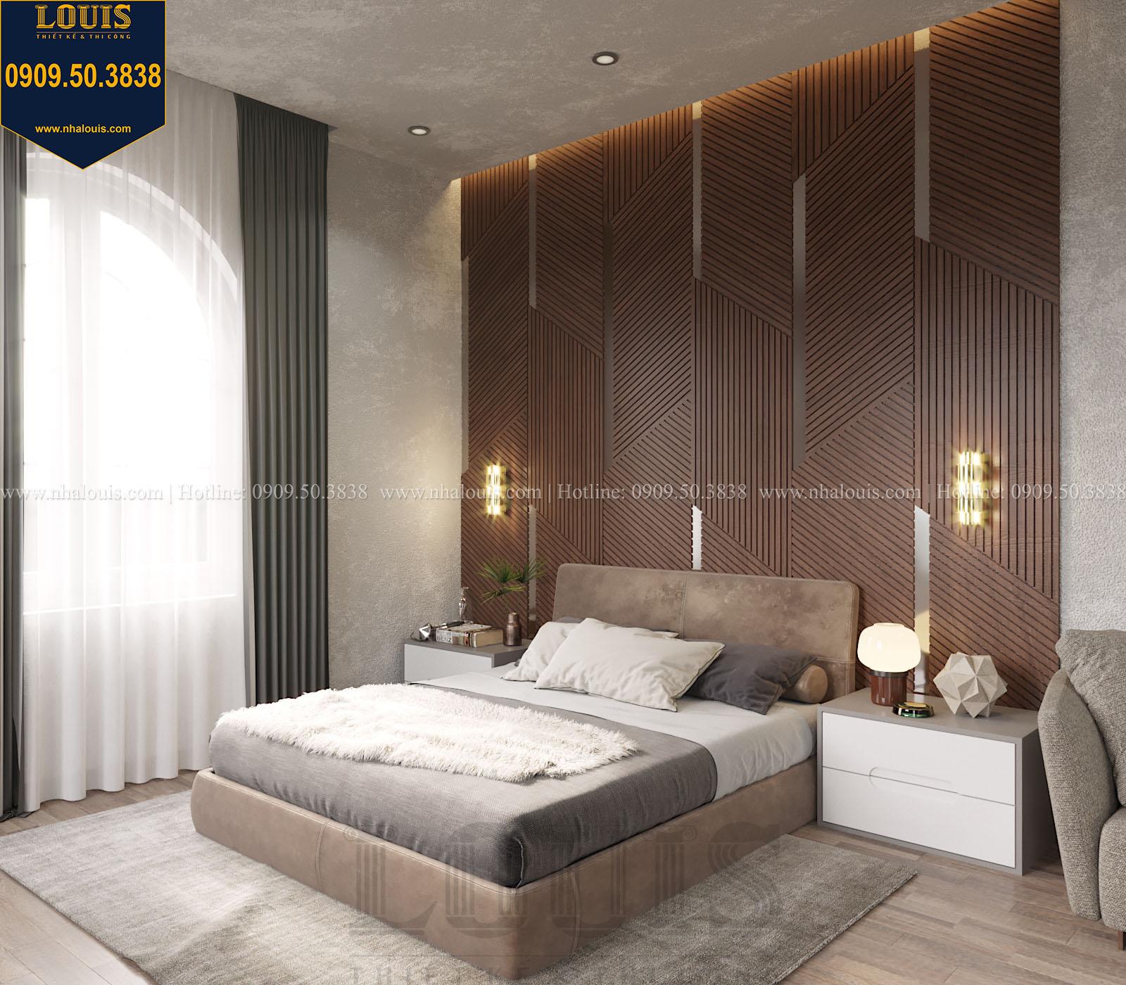 Phòng ngủ biệt thự 2 tầng đẹp - 045