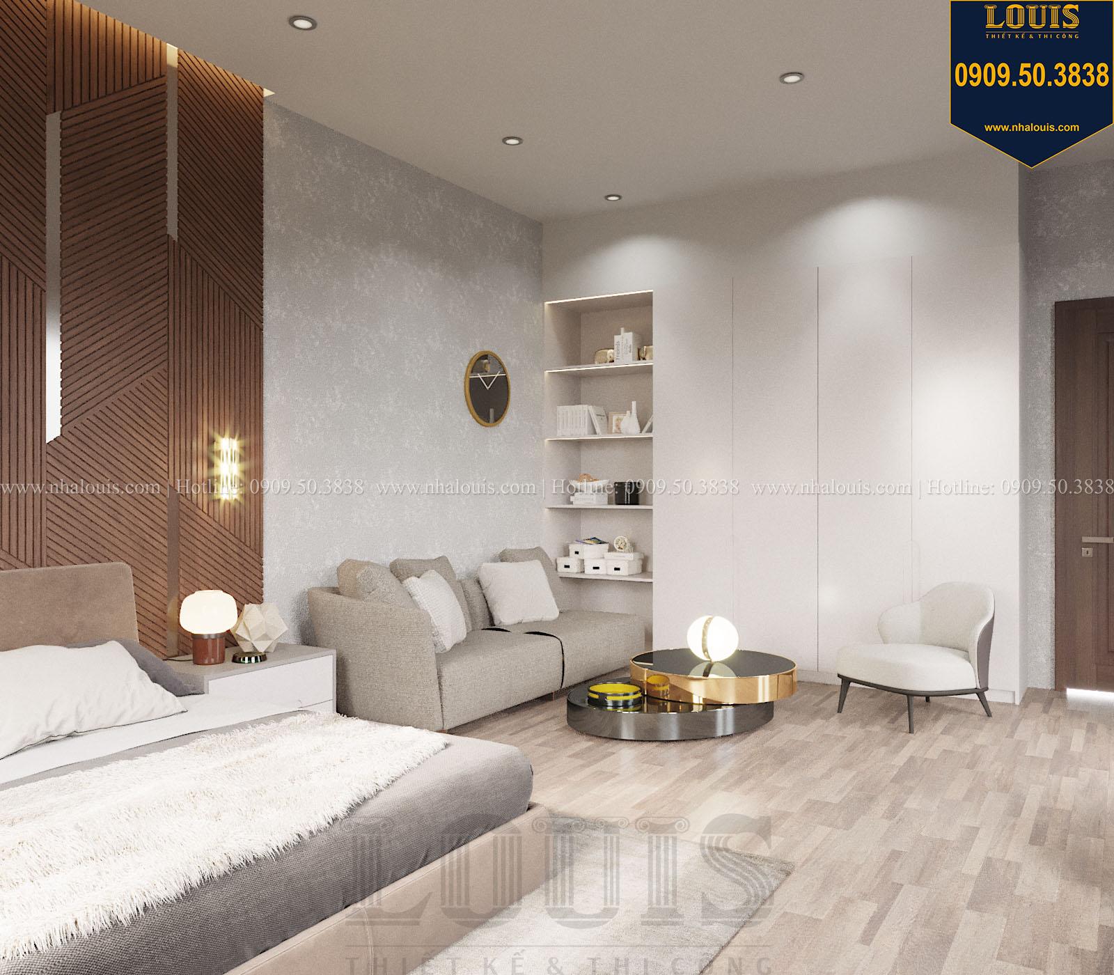 Phòng ngủ biệt thự 2 tầng đẹp - 048