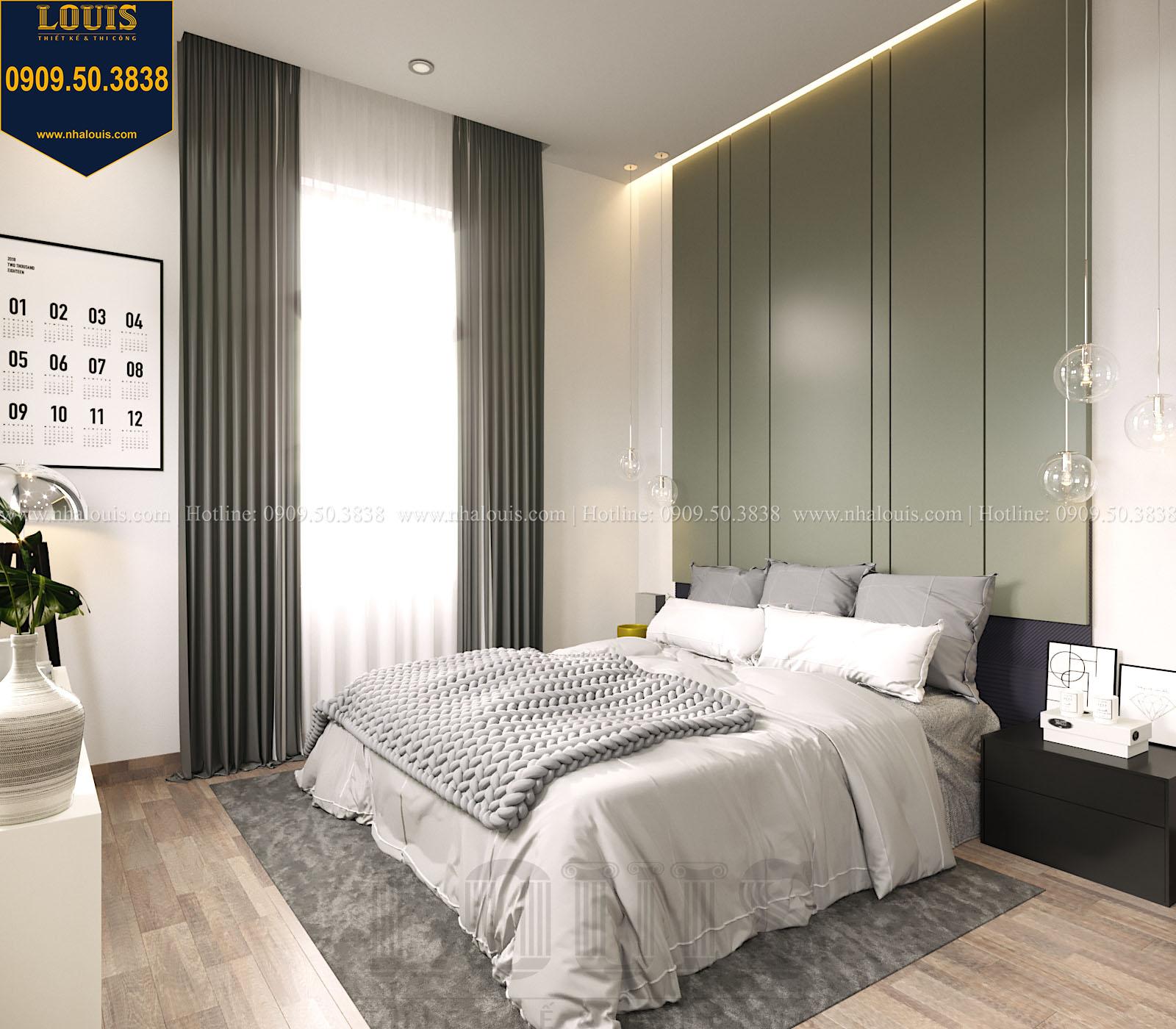 Phòng ngủ biệt thự 2 tầng đẹp - 049