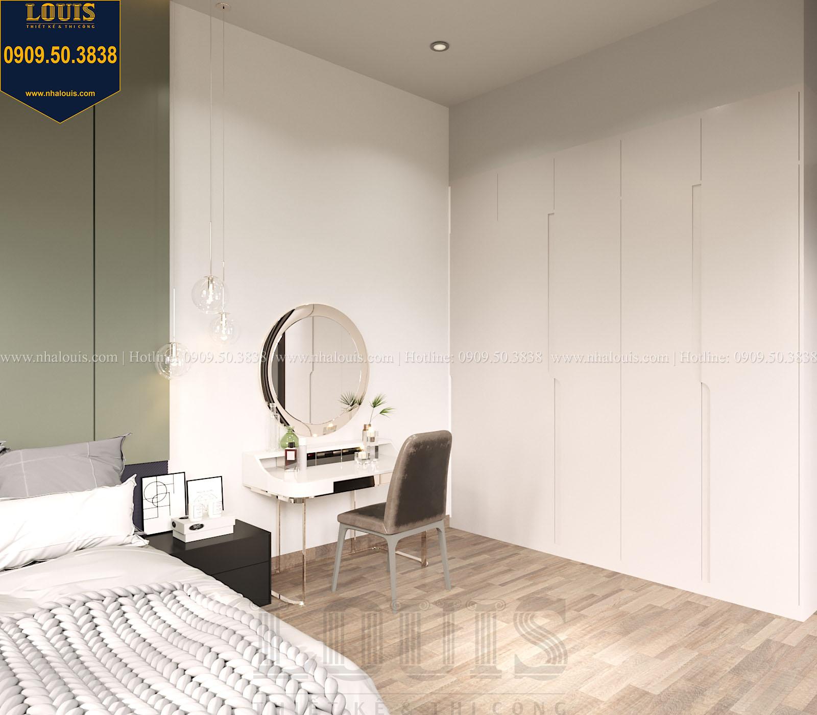 Phòng ngủ biệt thự 2 tầng đẹp - 050