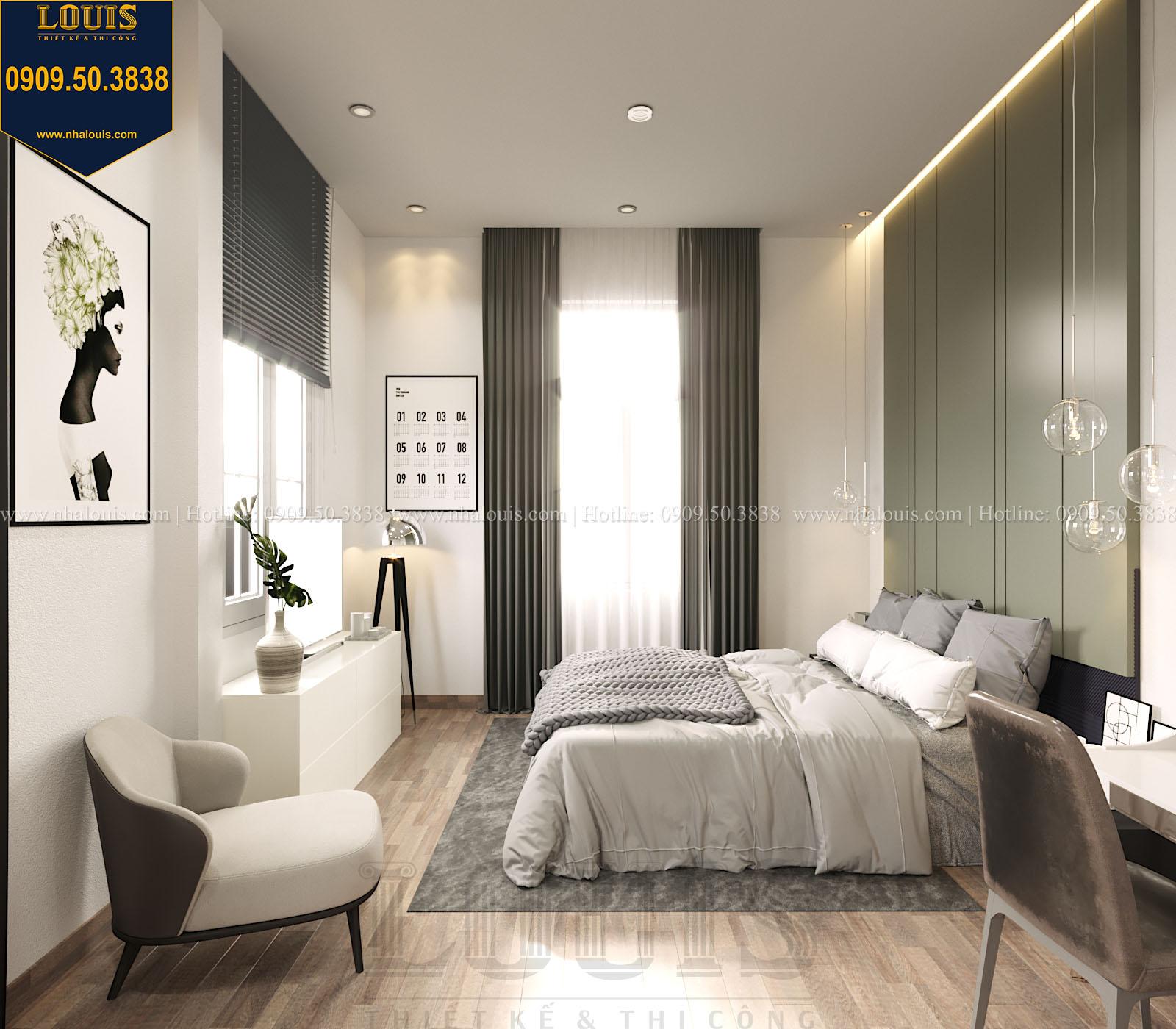 Phòng ngủ biệt thự 2 tầng đẹp - 051