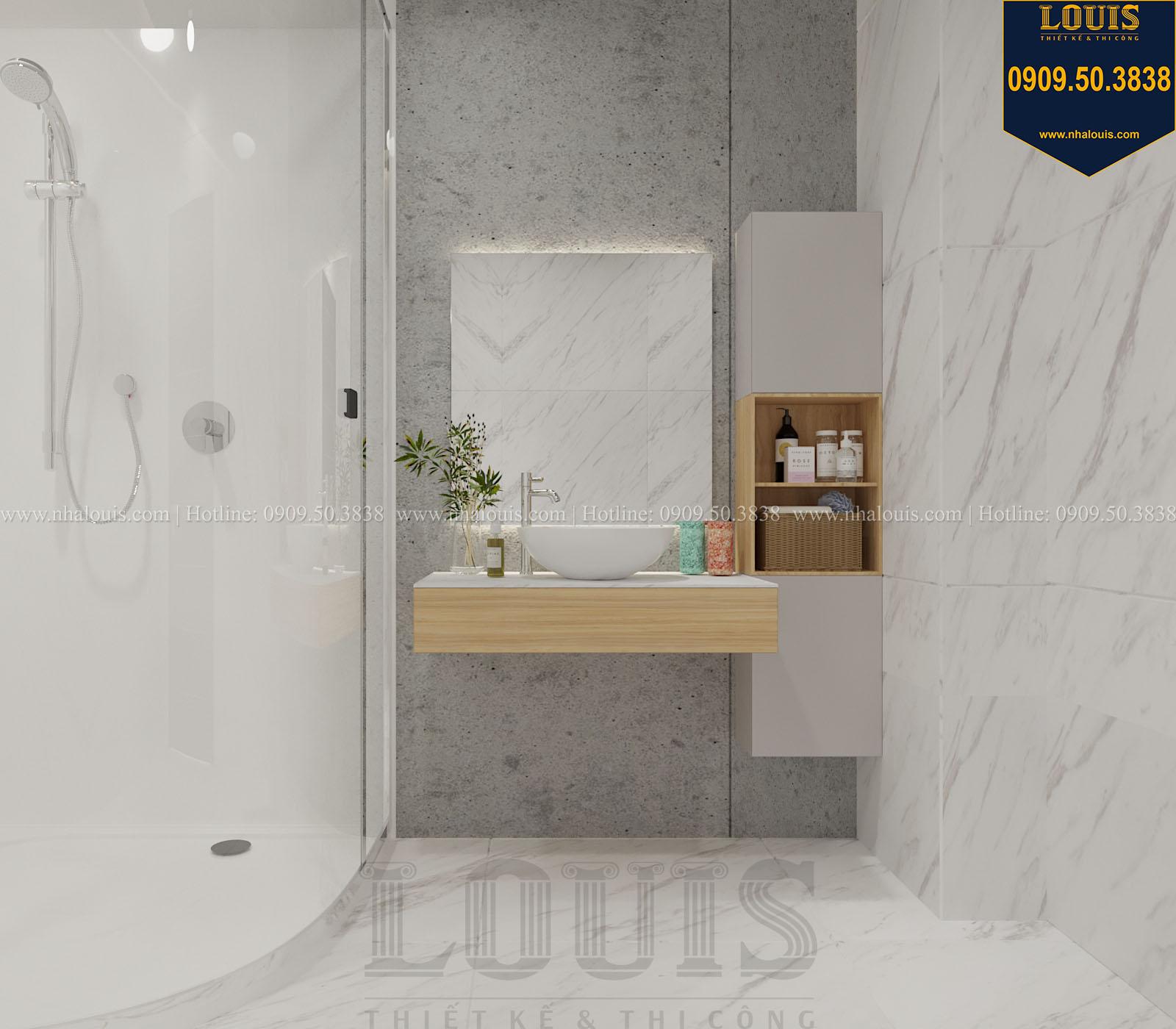 Phòng tắm và WC biệt thự 2 tầng đẹp - 052
