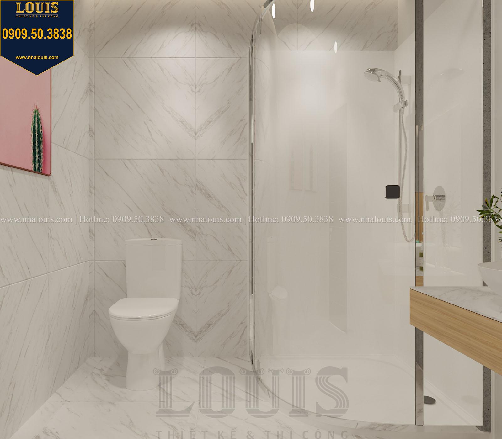 Phòng tắm và WC biệt thự 2 tầng đẹp - 053
