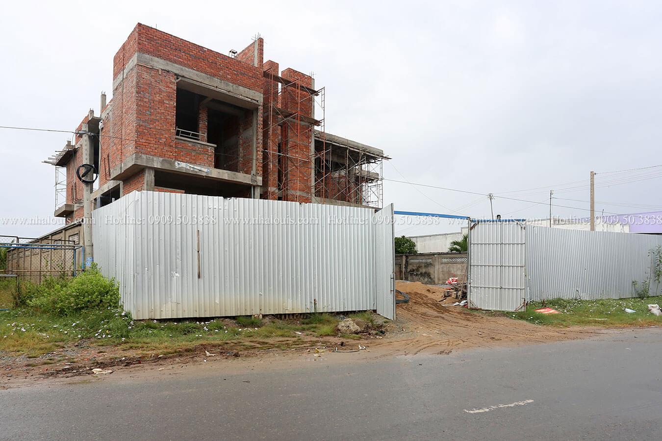 Mẫu nhà biệt thự 2 tầng hiện đại và phá cách tại Bạc Liêu