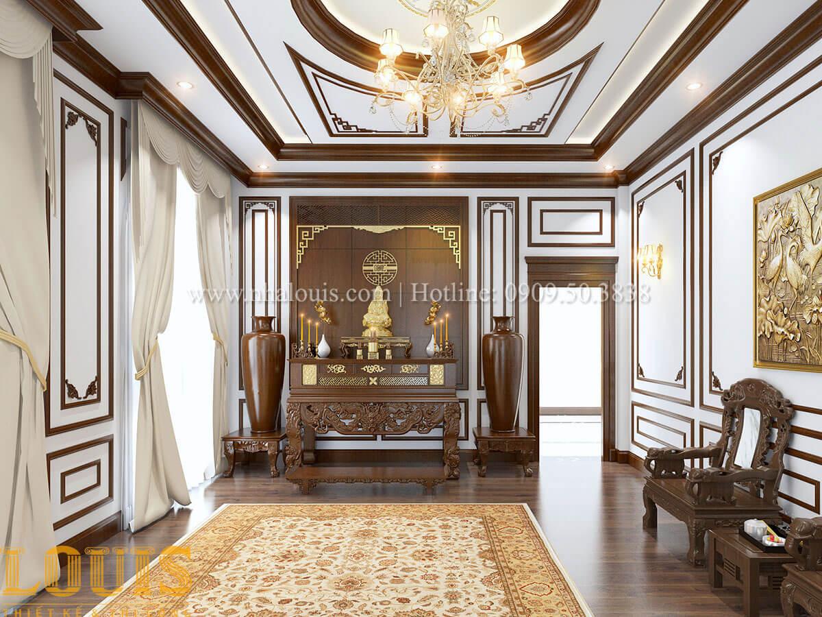 Mẫu nhà biệt thự 3 tầng đẹp thuần khiết tại Bình Dương - 32