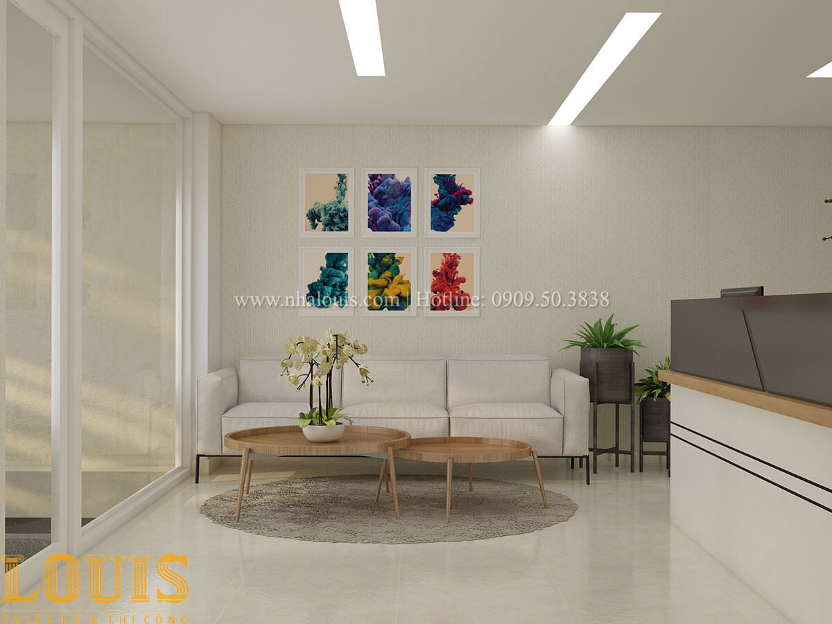 Phòng khách Nhà ống mặt tiền 4m phong cách hiện đại tại Quận Bình Thạnh - 19