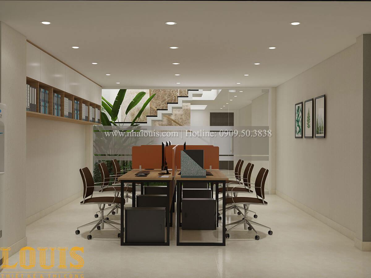 Văn phòng Nhà ống mặt tiền 4m phong cách hiện đại tại Quận Bình Thạnh - 22