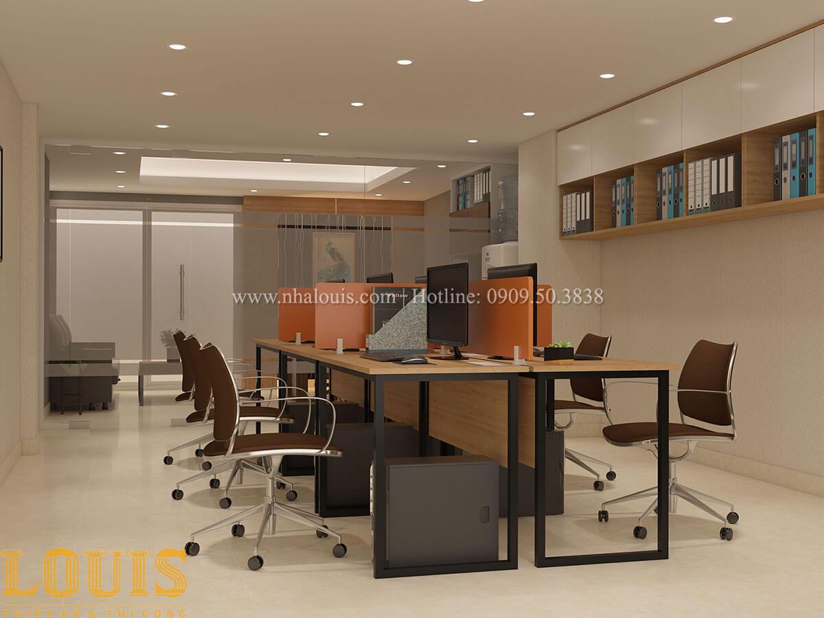 Văn phòng Nhà ống mặt tiền 4m phong cách hiện đại tại Quận Bình Thạnh - 23