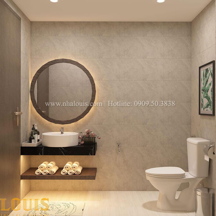 WC Nhà ống mặt tiền 4m phong cách hiện đại tại Quận Bình Thạnh - 26