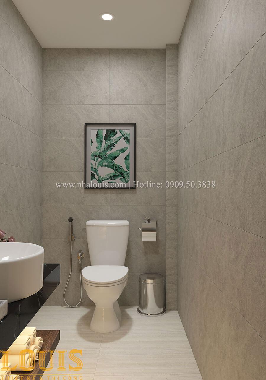 WC Nhà ống mặt tiền 4m phong cách hiện đại tại Quận Bình Thạnh - 27