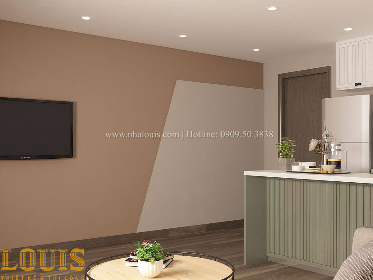 Phòng khách Nhà ống mặt tiền 4m phong cách hiện đại tại Quận Bình Thạnh - 29