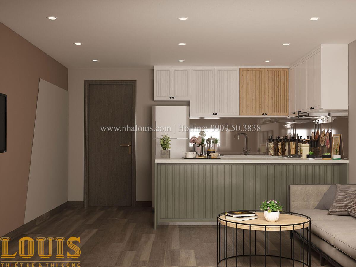 Bếp và phòng ăn Nhà ống mặt tiền 4m phong cách hiện đại tại Quận Bình Thạnh - 30